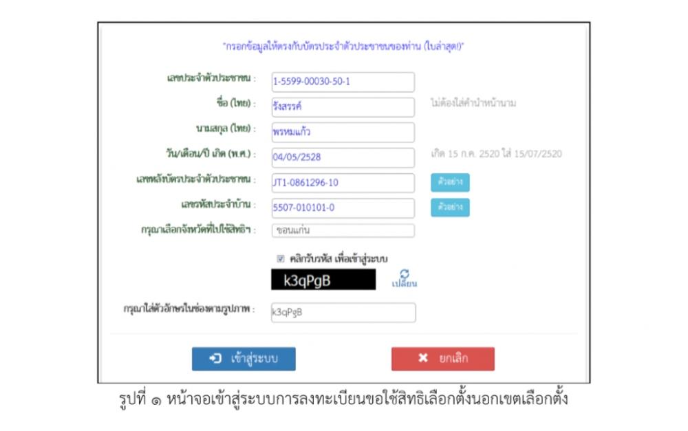 เลือกตั้งประเทศไทย