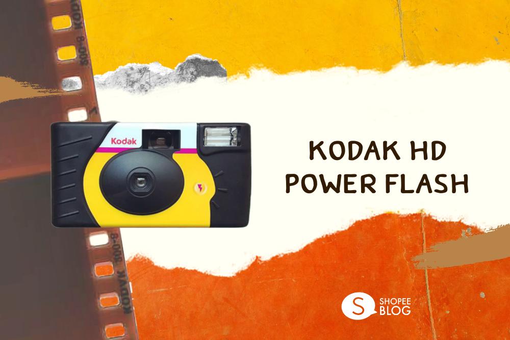 กล้องฟิล์มใช้แล้วทิ้ง Kodak HD Power Flash