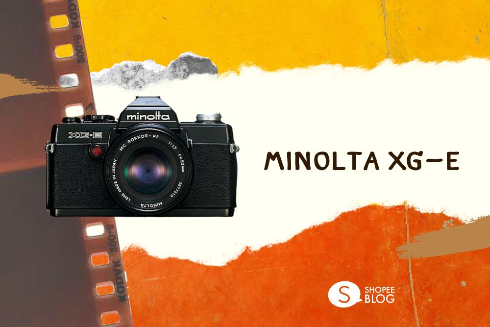 กล้องฟิล์มใช้แล้วทิ้ง Minolta XG-E