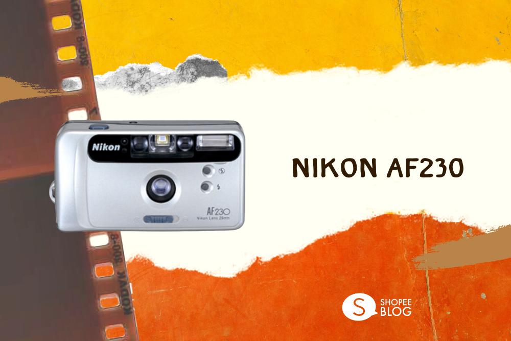 กล้องฟิล์มใช้แล้วทิ้ง Nikon AF230