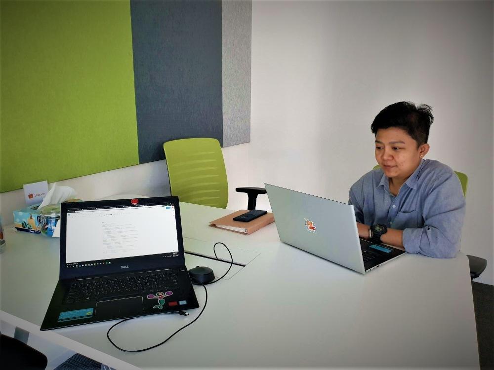 interview-bangkok-university-shopee-นิเทศศาสตร์-แนะนำตัว