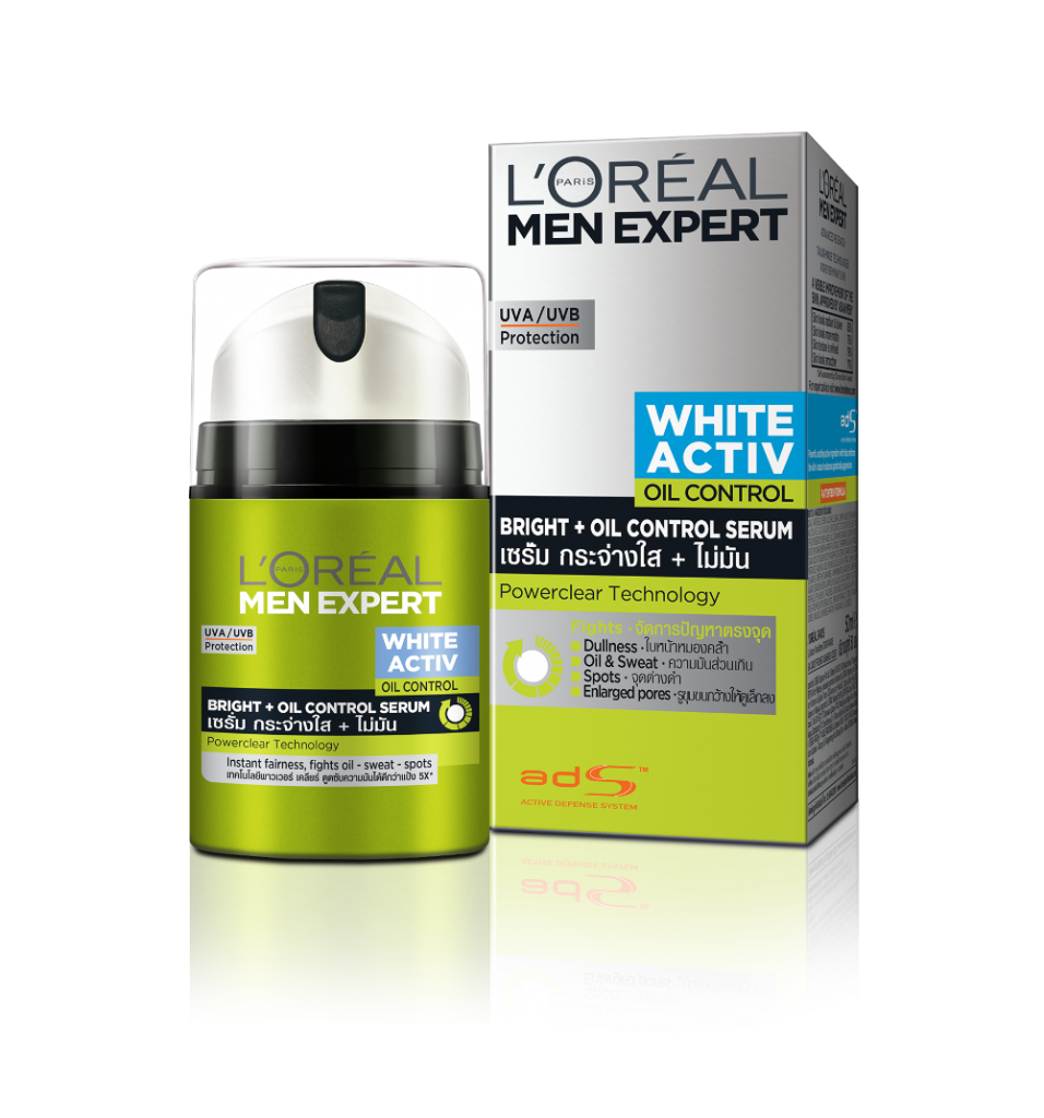 L'Oreal Men Expert White Activ Oil Control