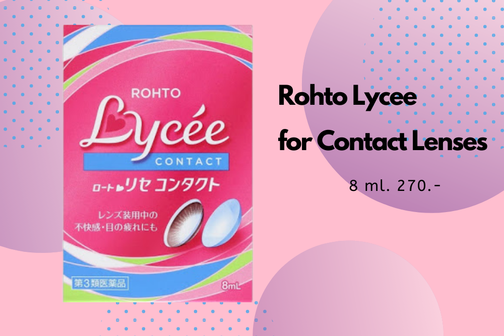 Rohto Lycee for Contact Lenses