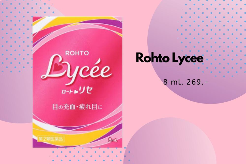 ยาหยอดตา Rohto Lycee