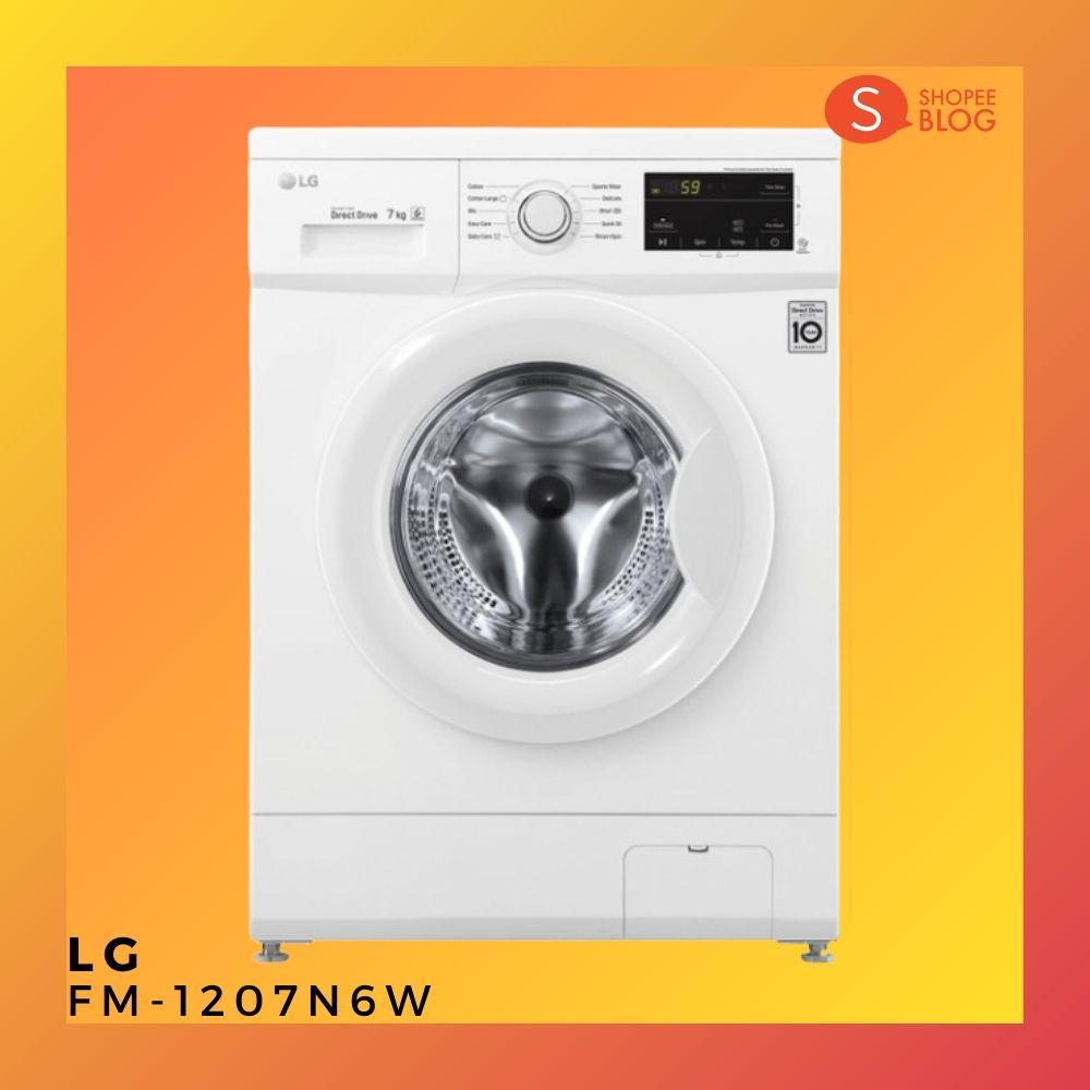 เครื่องซักผ้า LG รุ่น FM-1207N6W