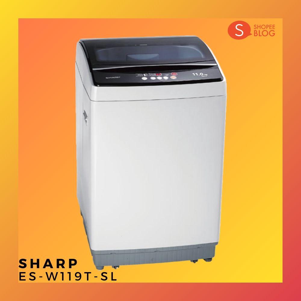เครื่องซักผ้า SHARP รุ่น ES-W119T-SL