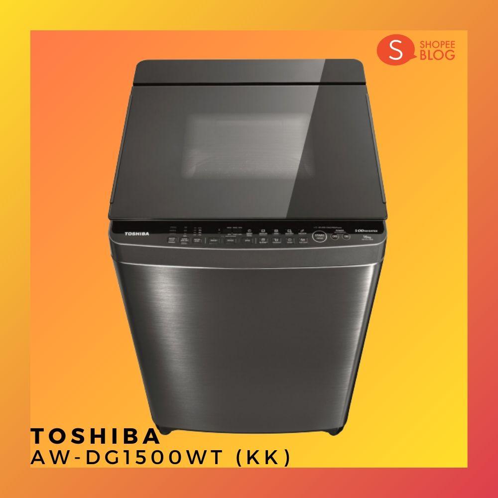 เครื่องซักผ้า TOSHIBA รุ่น AW-DG1500WT (KK)