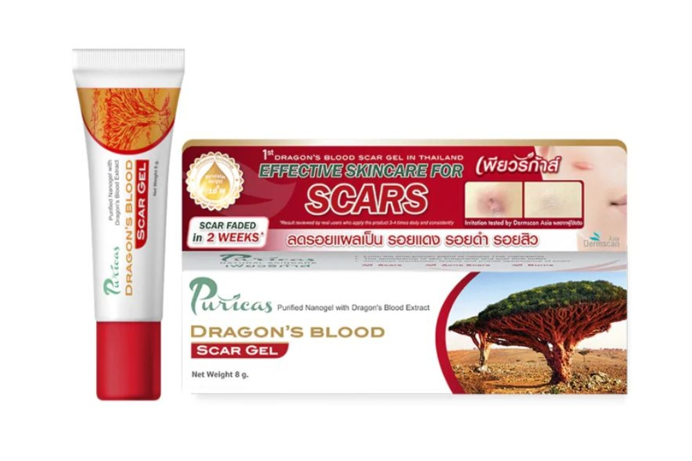 Puricas Dragon's Blood Scar Gel