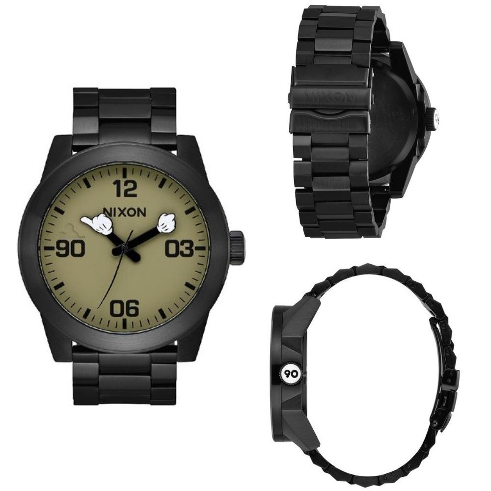 นาฬิกาผู้ชาย_NIXON Mickey Corporal SS