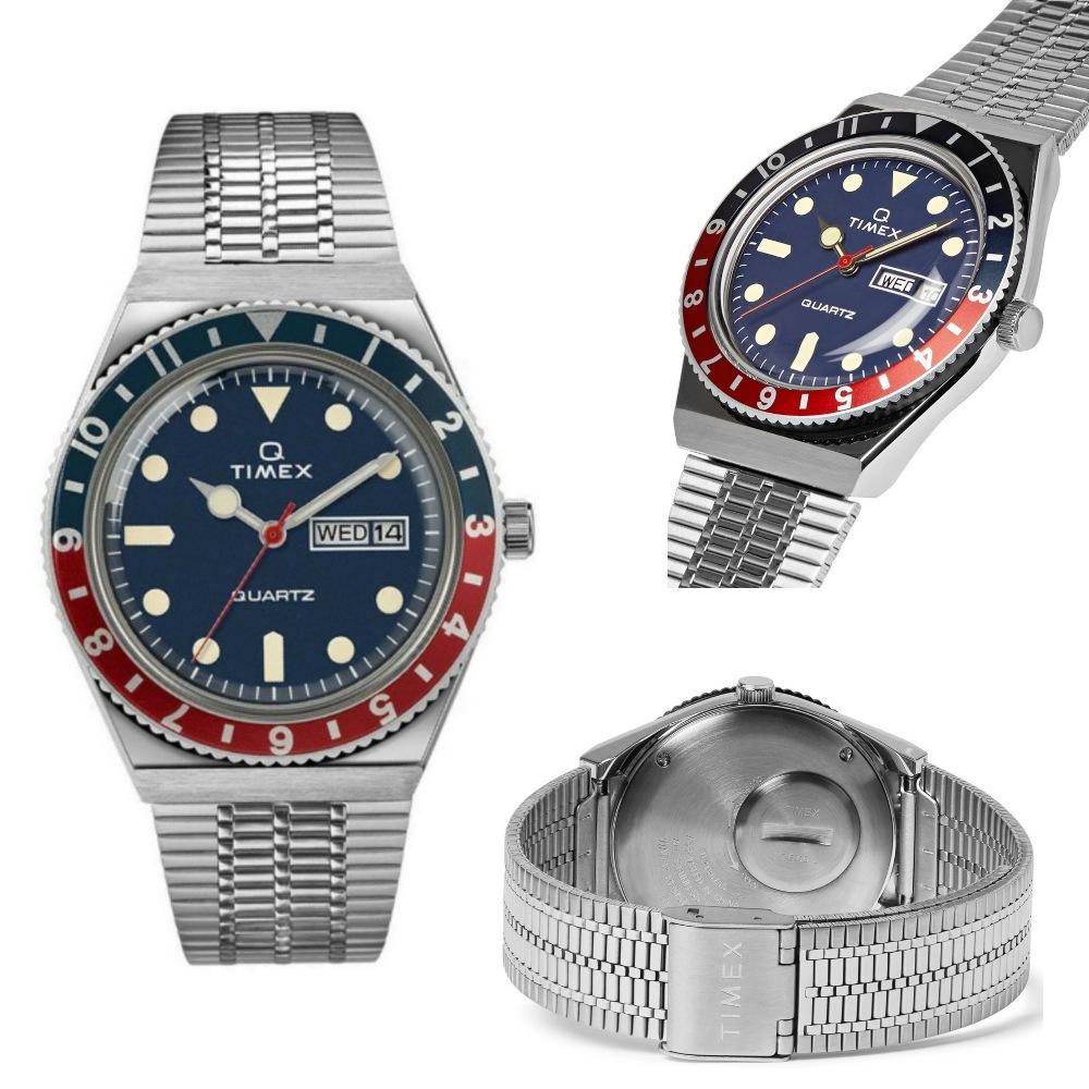 นาฬิกาผู้ชาย_TIMEX TM-TW2T80700 (Q Timex Reissue)