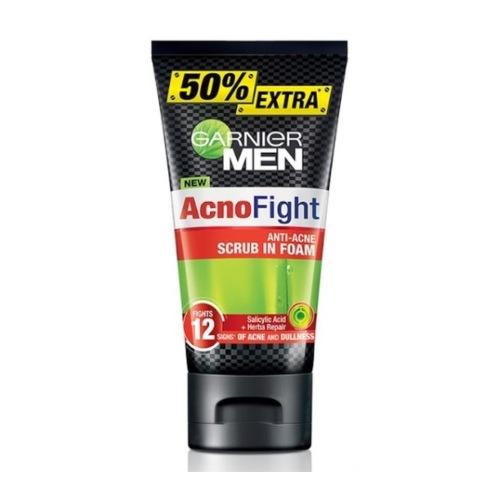 GANIER MEN Acno Fight Anti-Acne Scrub in Foam
