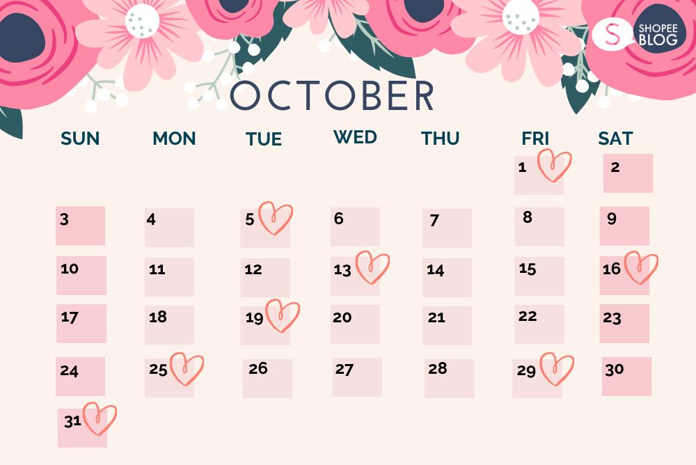 ฤกษ์แต่งงาน 2564 เดือนตุลาคม