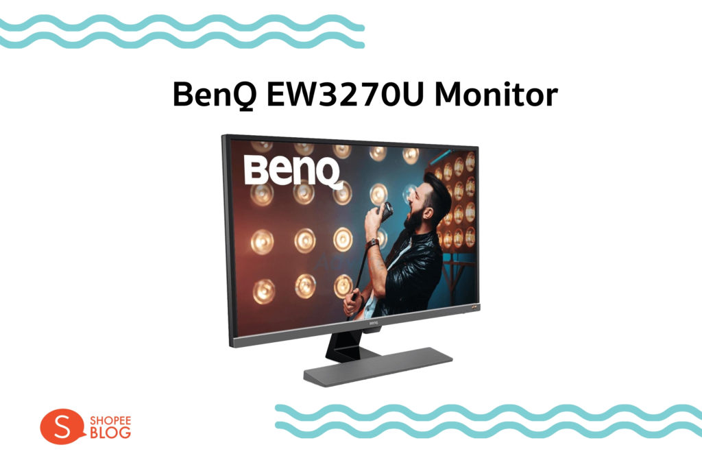 BenQ EW3270U Monitor 32 นิ้ว