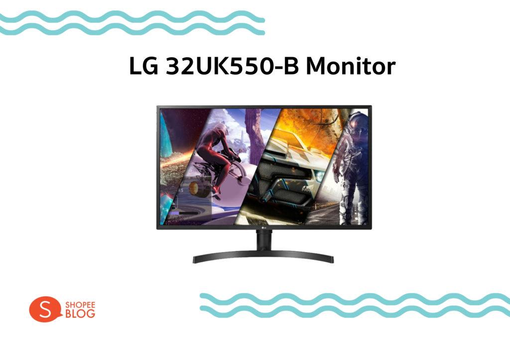LG 32UK550-B Monitor 32 นิ้ว