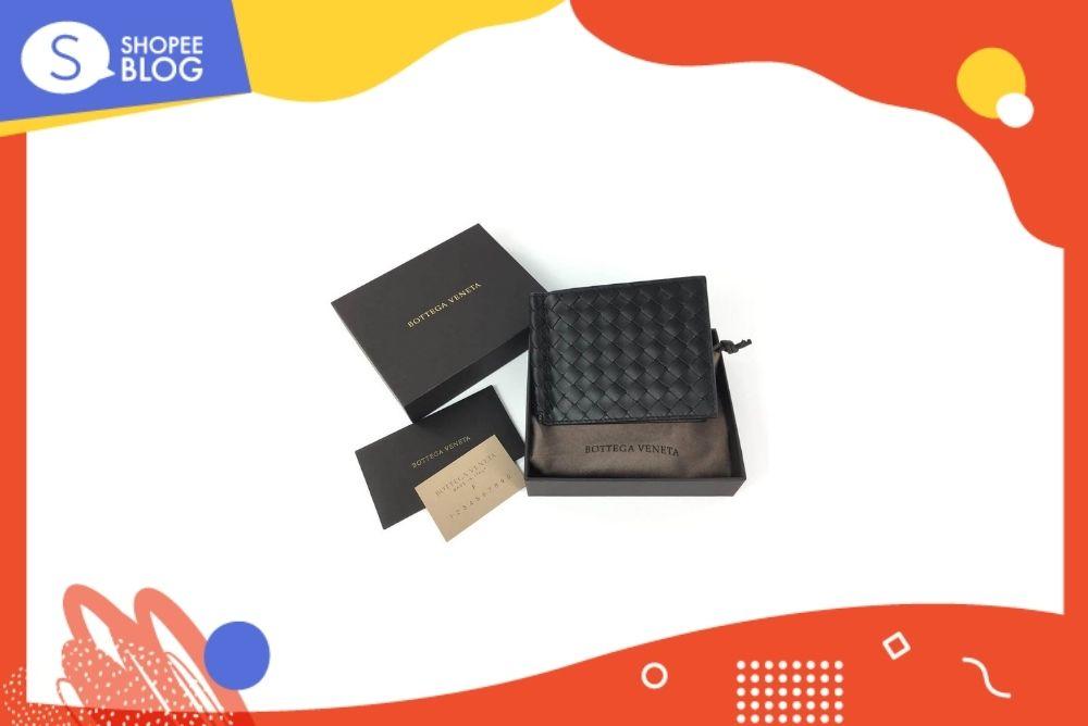 กระเป๋าแบรนด์ Bottega 8 cards wallet