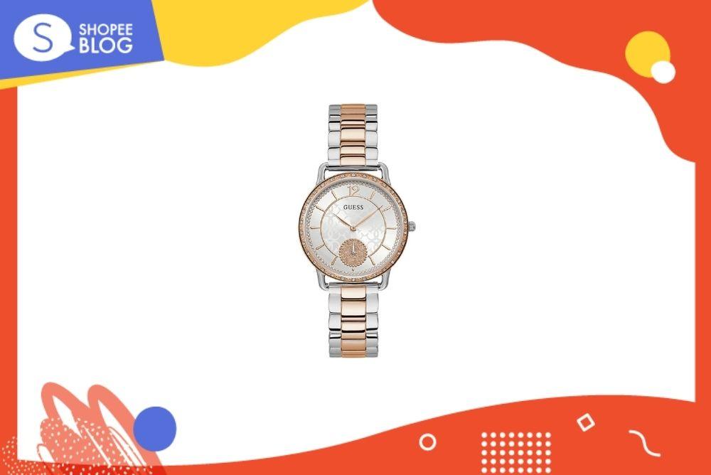 นาฬิกาแบรนด์ GUESS นาฬิกาข้อมือผู้หญิง