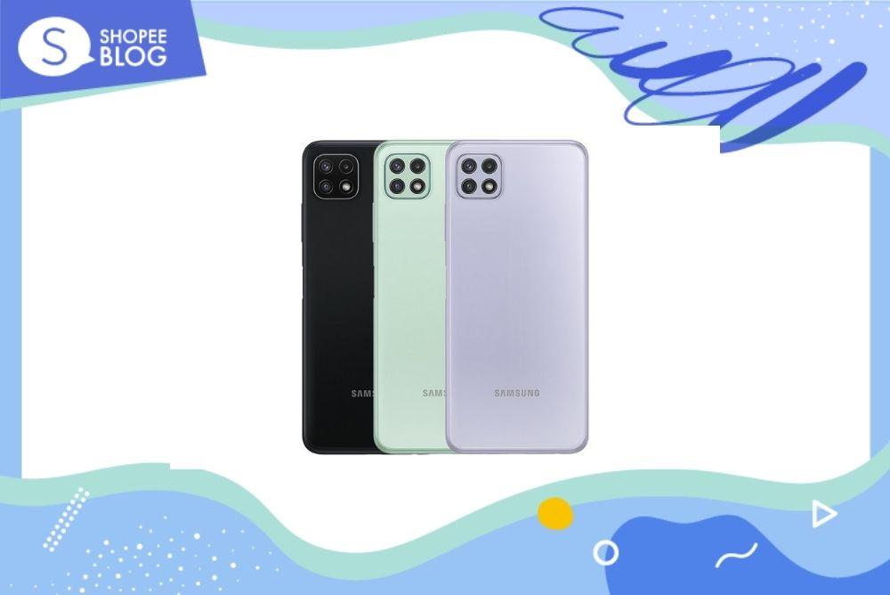 โทรศัพท์ยี่ห้อไหนดี Samsung Galaxy A22